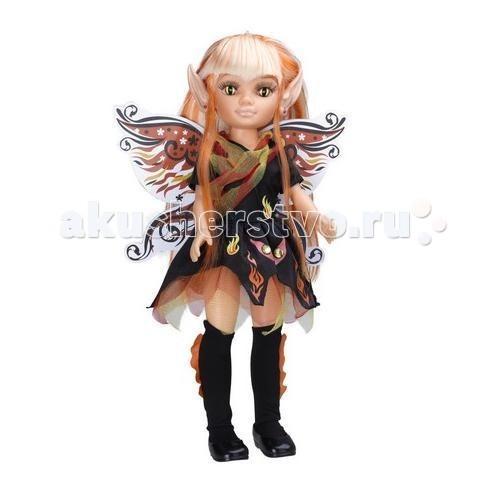 Famosa Кукла Нэнси дух огняКукла Нэнси дух огняКукла Famosa Нэнси дух огня - модница Нэнси готова к празднику! Ей нравится отмечать Хэллоуин и наряжаться в костюмы, чтобы раз в году почувствовать себя сказочным персонажем.   Каждый из нарядов куклы имеет ряд особенностей и покоряет своей красотой: за спиной у Нэнси есть крылья, украшенные светящимися в темноте элементами, а ее волосы легко заплетаются в различные прически. Можно изменить разрез глаз куклы с помощью наклеек, а остроконечные ушки сменить на обычные. Импровизируйте и создавайте уникальный образ для своей куклы!   Игра развивает логические навыки, воображение и мелкую моторику.   Возраст: от 4 лет.   Размеры упаковки: 46 x 20,4 x 11 см.   Высота куклы: 43 см.<br>