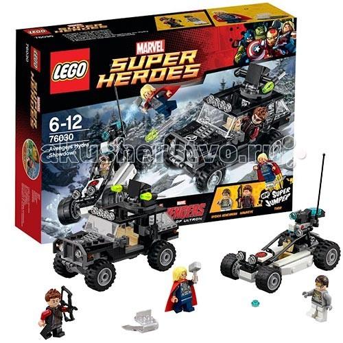 Lego Lego Super Heroes 76030 Лего Супер Герои Гидра против Мстителей lego конструктор супер герои нападение на башню мстителей lego 76038