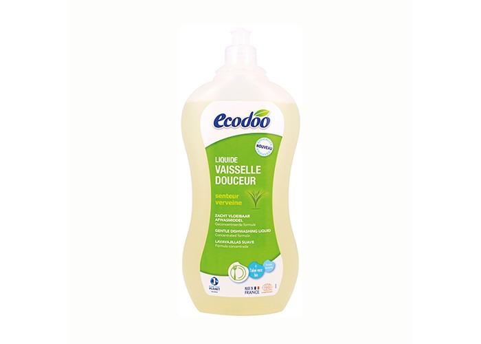 Бытовая химия Ecodoo Средство для мытья посуды с алоэ вера 1000 мл  biolane средство для мытья посуды бальзам алоэ вера 1000 мл
