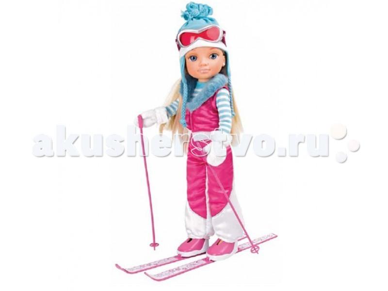 Famosa Кукла Нэнси Зимняя красавица на лыжахКукла Нэнси Зимняя красавица на лыжахКукла Famosa Нэнси Зимняя красавица на лыжах - Нэнси увлекается многими видами спорта и сегодня она решила покататься на лыжах.   Кукла одета в розовый горнолыжный костюм, лыжные ботинки, очаровательную шапочку с косичками и розовые защитные очки. В набор, конечно же, входят и сами лыжи розового цвета, в тон костюма Нэнси!   Одна из самых очаровательных кукол, изображающих девочек, – это, конечно же, кукла Нэнси. Нэнси – красавица с густыми и шелковистыми волосами, выразительными глазами и длинными ресницами.   Нэнси всегда разная, и всегда рада меняться вместе с вашими детьми. Единственное, что остается неизменным – это качество и обворожительный внешний вид.<br>