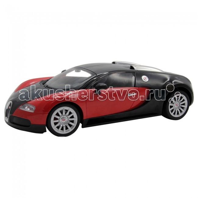 KidzTech Радиоуправляемый автомобиль 1:12 Bugatti 16.4 Grand Sport c аккумуляторомРадиоуправляемый автомобиль 1:12 Bugatti 16.4 Grand Sport c аккумуляторомKidzTech Радиоуправляемый автомобиль 1:12 Bugatti 16.4 Grand Sport c аккумулятором - от известной по всему миру компании по производству моделей с дистанционным управлением KidzTech. Эта уменьшенная копия настоящей машины станет отличным подарком для вашего ребенка. Автомобиль выполнен из высококачественных материалов, не токсичен и безопасен для здоровья.  Масштаб машинки: 1:12  Длина модели: 30 см  Для работы потребуются 1 батарейка типа 7.2V (для машинки) и одна батарейка типа 9V (для пульта управления). Батарейки включены в комплект  Частота: 27, 40 и 49 МГц  Рекомендуется для детей от 6 лет.<br>