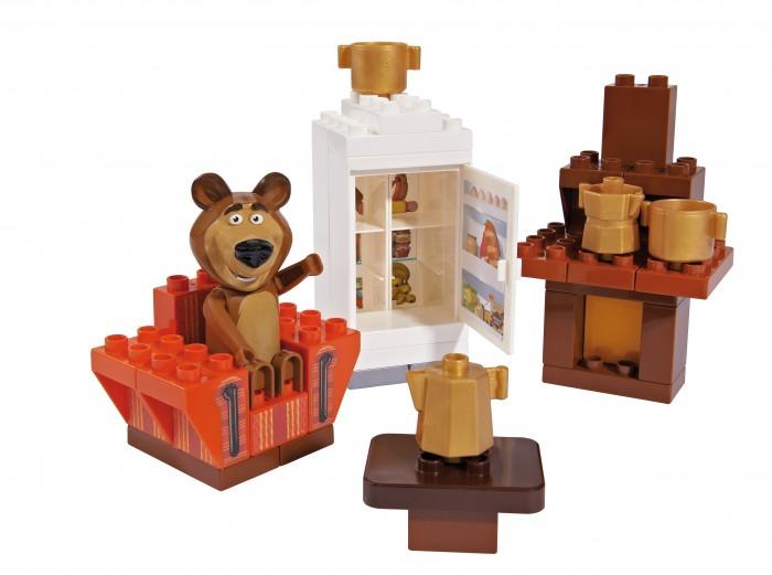 Конструкторы BIG Маша и Медведь Кухня Мишки 35 деталей