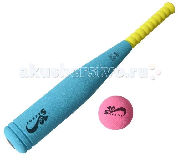 Спортивный инвентарь SafSof Бита бейсбольная 45 см safsof игровой набор бейсбольная бита и мяч цвет зеленый желтый