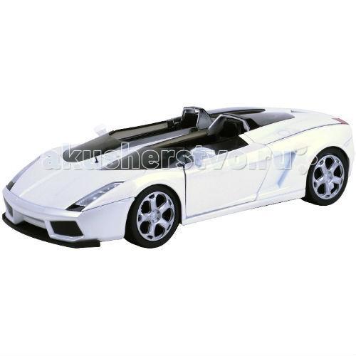 Машины MotorMax Машинка коллекционная Laмborghini Concept S 1:24 коллекционная модель motormax laмborghini gallardo superleggera цвет черный металлик масштаб 1 24