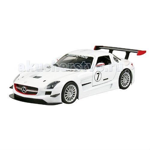 Машины MotorMax Машинка коллекционная 1:24 GT Racing  Mercedes Benz SLS АMG GT3 модель автомобиля 1 24 motormax dodge viper srt10 racing 2003