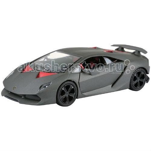 Машины MotorMax Машинка коллекционная Lamborghini Sesto Elemento 1:24 коллекционная модель motormax laмborghini gallardo superleggera цвет черный металлик масштаб 1 24