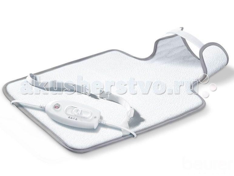 Sanitas Электрогрелка SHK30 CosyЭлектрогрелка SHK30 CosySanitas SHK30 – современная электрическая грелка для спины и шеи. Имеет 3 температурных режима, электронный механизм точного регулирования температуры. Нагревательный элемент заключен в защитную пластиковую оболочку, которую можно помыть. Съемный чехол можно стирать в стиральной машине.  Особенности: Электрогрелка для спины и шеи Удобная форма, фиксация по фигуре Система защиты от перегрева BSS® Электронное регулирование температуры 3-температурных режима Функция Турбо: нагрев за 10 минут Автоотключение через ~ 90 минут Индикатор функций с подсветкой Съемный шнур питания Подходит для машинной стирки при 30°C Размер 54 x 38 см Мощность 100 Вт  Производитель: Hans Dinslage GmbH, Германия Гарантия: 12 мес.<br>