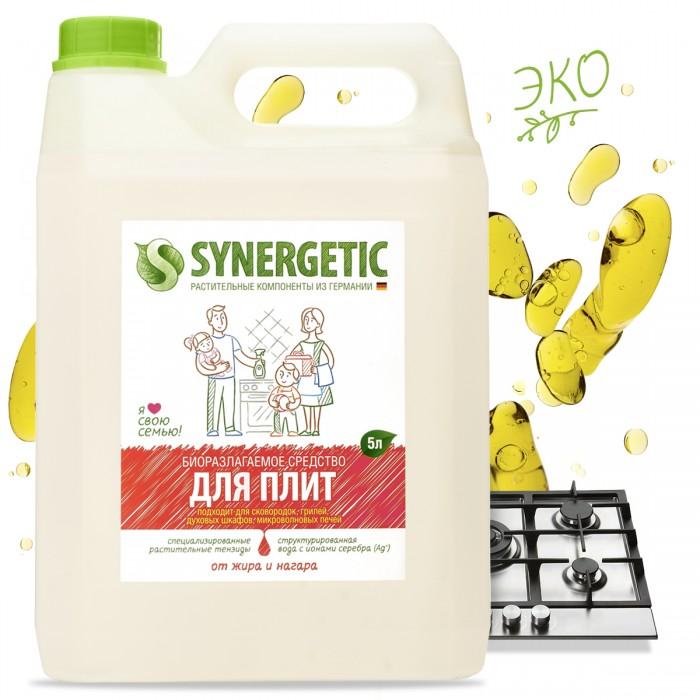 Бытовая химия Synergetic Средство чистящее для плит 5 л  чистящее средство p