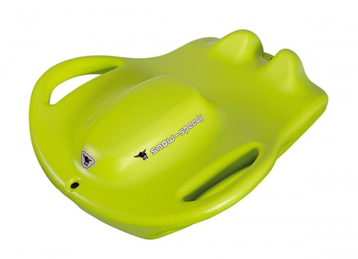 Санки BIG SpeedySpeedyСанки BIG Speedy - скоростные пластиковые санки для катания по снегу, подойдут всем любителям экстремального спуска с гор.    Особенности:    Они изготовлены из упрочненной пластмассы, морозоустойчивы и долговечны.   Санки имеют специальную форму, на которой можно сидеть в двух положениях: с вытянутыми ногами или на коленях.   Эргономичный дизайн, яркий окрас и удобные ручки для транспортировки делают санки еще привлекательней.   Ваш малыш получит незабываемые ощущения от катания на скоростных санках со снежных ледяных горок.<br>