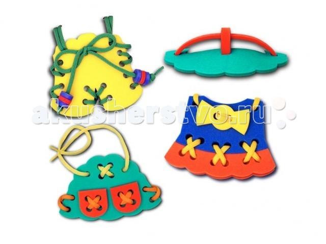 Развивающие игрушки Тедико Шнуровка Одежда для девочки топик лифчик для девочки 10 лет