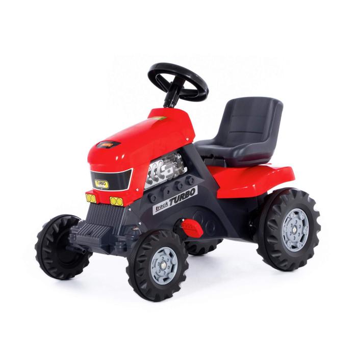 Coloma Педальная машина Трактор TurboПедальная машина Трактор TurboПедальный трактор Coloma Turbo станет для чада любимой вещью и желанным подарком.   С присущей серьезностью Coloma отнеслись к вопросу создания тракторов. Выглядит эта игрушка как настоящая серьезная техника, с помощью которой Ваш ребенок может играть и чувствовать себя взрослым и важным работником. А на работу он может пока устроится к своим родителям. Это замечательный шанс помочь вам во дворе дома или на даче. Давайте задания своим детям и Вы будете приятно удивлены с какой ответственностью они подходят к выполнению домашних обязанностей.   Удобный маневренный трактор на педалях изготовлен из прочного пластика. Все детали выполнены из качественной пластмассы. Движется трактор с помощью педалей за счет прочной системы цепного привода, развивая мышцы ног ребенка и координацию движений. Большие широкие колеса c глубоким протектором позволяют трактору передвигаться по любой поверхности дороги – асфальту, лужам, грунту, камням, песку и траве. У трактора – 4 колеса: 2 больших задних и 2 передних поменьше. Широкое и высокое сиденье со спинкой придают этому трактору особую значимость. Руль легко поворачивается, что обеспечивает простоту в управлении, оснащен клаксоном.   Эта игрушечная модель так близка к оригинальному трактору. Ваш ребенок будет горд своим транспортом, а Вы будете гордиться своим помощником. Кроме пользы от физических нагрузок, этот серьезный транспорт способен решать серьезные воспитательные задачи, развивает много хороших качеств: внимательность, ответственность и желание помогать родным. Педальные машинки и трактора, в отличие от электрических, развивают и укрепляют ребенка физически, воспитывают характер и умение преодолевать и внешние трудности и собственную лень. Оцените это сами!   Максимальная нагрузка - 50 кг. Размер 82х50х70 см, вес-7 кг.<br>