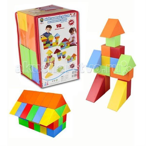 Конструктор Pilsan 10 деталей Lux Кубики10 деталей Lux КубикиКонструктор Pilsan 10 деталей Lux Кубики - разноцветный конструктор выполнен из экологически чистого пластика и безопасен для здоровья ребёнка.   Благодаря крупным деталям, в конструктор могут играть даже самые маленькие детки!  Возможно множество вариантов сборки, что развивает креативность и воображение ребенка. Способствует умственному развитию. Очень увлекателен для маленьких непосед.  Игра с конструктором стимулирует фантазию и творческое воображение, развивает мелкую моторику.<br>