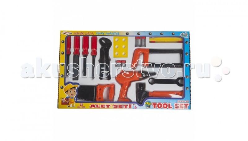 Ролевые игры Pilsan Набор Инструментов Tool Set в коробке  игрушечные инструменты pilsan инструменты tool set