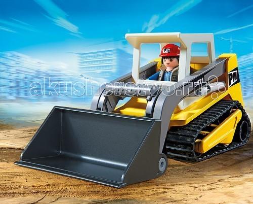 Конструктор Playmobil Стройка: Мини-экскаватор