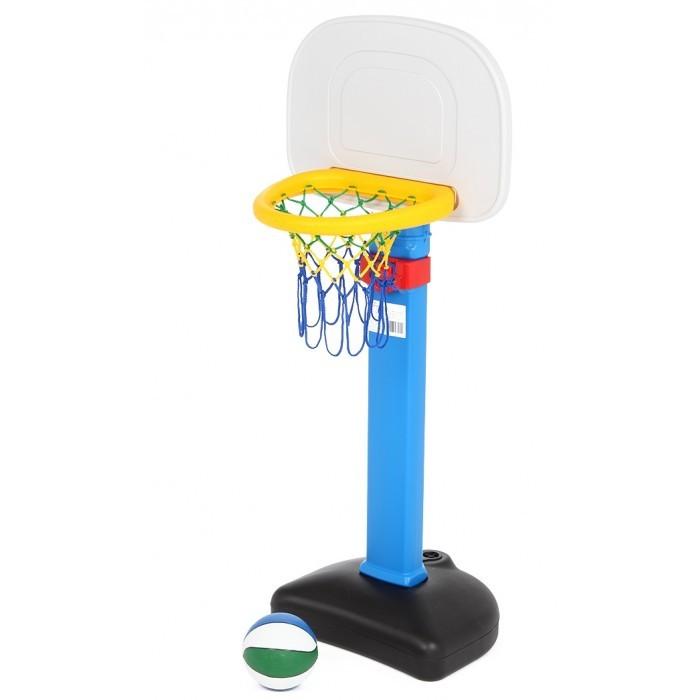BabyOne Ching-Ching Стойка баскетбольная со щитомChing-Ching Стойка баскетбольная со щитомБаскетбольный щит на устойчивой стойке ярких цветов.  - идеален для игры в баскетбол на открытом воздухе - стойка регулируется по высоте - при сборке следуйте прилагаемой инструкции  Высота: от 1.3 до 2.0 м; Высота лузы от 1.0 до 1.7 м  Вся продукция фирмы изготовлена из высококачественного пластика, предусматривающего его использование на долгий срок.<br>
