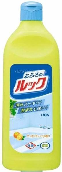 Бытовая химия Lion Чистящее средство для ванной Look с ароматом апельсина 500 мл универсальное чистящее средство astonish с ароматом апельсина 750 мл