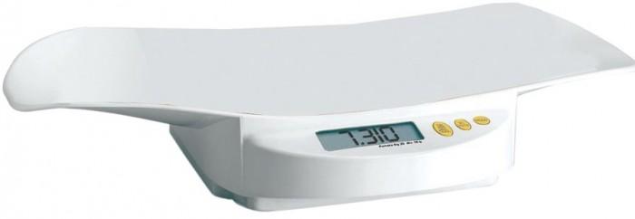 Детские весы LAICA MD6141MD6141Электронные детские весы LAICA! MD6141 сконструированы, для того чтобы помочь Вам отслеживать изменения в весе вашего ребенка.   Функция TARE, позволяет Вам взвешивать ребенка, не учитывая вес пеленки, на которой лежит малыш.   Функция WEIGHT-BLOCK показывает точный вес ребенка, даже если Ваш малыш лежит неспокойно.  Максимальный вес измерения 20кг.  Дискретность измерения в 10гр.  Технические характеристики:  Диапазон измерения: 10 г - 20 кг  Шаг измерения: 5 г  Для работы электронных детских весов MD6141 необходима 1 батарейка 6LR61 (9V, Крона) (в комплект не входит).  Условия эксплуатации: температура от 0°C до +50°C, относительная влажность до 85%  Условия хранения: температура от 0°C до +50°C, относительная влажность до 85%  Размеры: 32 x 52 x 8 см  Вес: 2.20 кг  Точность измерения составляет ± 3%.  Размер чаши для весов: 52х25 см.   Размер упаковки: 55х36х13 см<br>