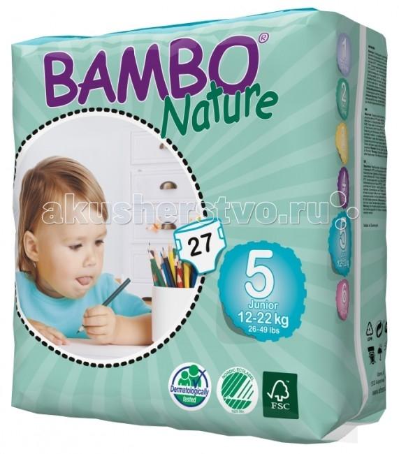 Подгузники Bambo Nature Подгузники Junior (12-22 кг) 27 шт.