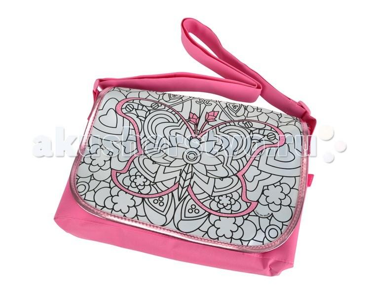 Заготовки под роспись Color me mine Сумка Алмазный блеск 31 х 28 см color me mine рюкзак 5 перманентных маркеров