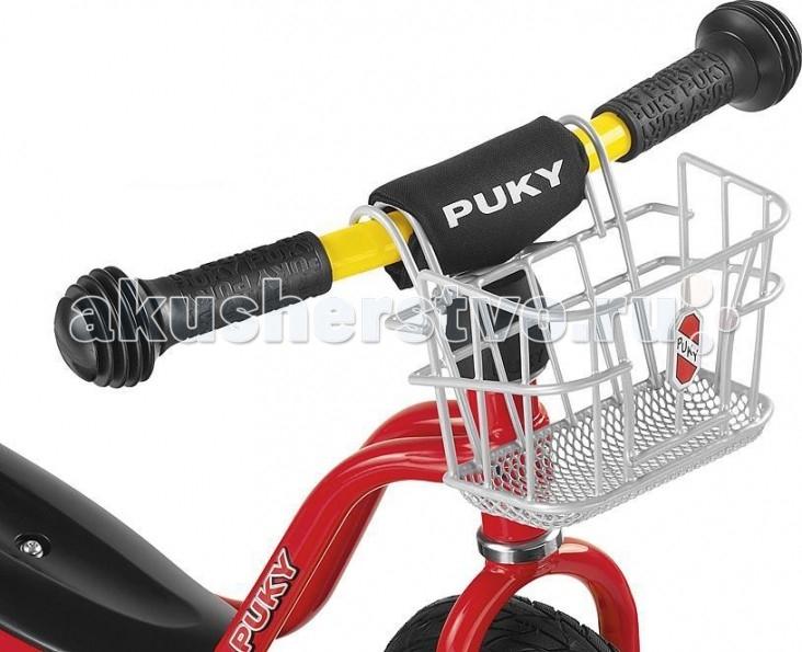 Аксессуары для велосипедов и самокатов Puky Передняя корзина для беговелов puky lk dr silver