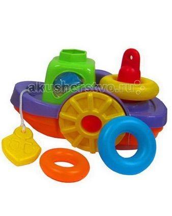 Игрушки для ванны Simba ABC Игрушка для купания Кораблик