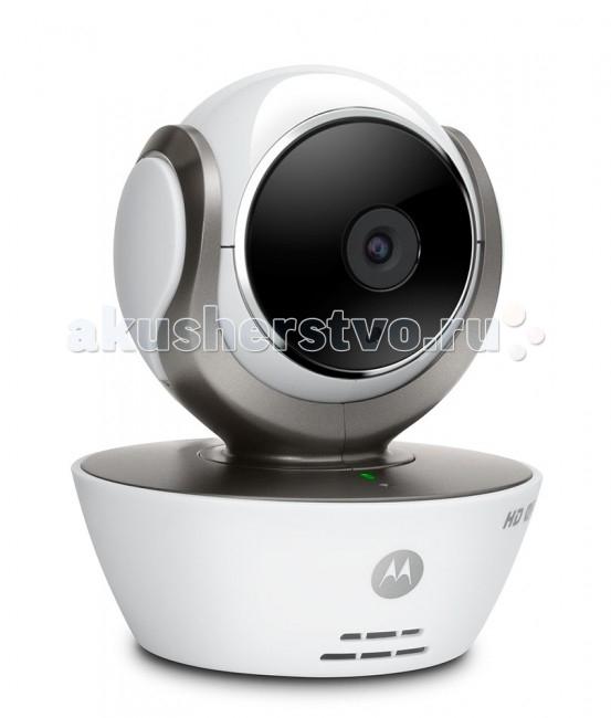 Motorola Видеоняня MBP85ConnectВидеоняня MBP85ConnectВидеоняня Motorola MBP85Connect - гарант безопасности вашего малыша. Эта компактная видеоняня позволит вам следить за своим чадом, где бы вы не находились, с помощью смартфона, планшета или компьютера.   Особенности: Встроенный модуль беспроводной сети Wi-Fi позволяет смотреть видео в формате HD 720p в режиме реального времени через всемирную сеть Интернет. Наблюдение с помощью смартфона, планшета или компьютера Поддержка WiFi Дистанционное масштабирование, изменение положения и угла камеры Угол обзора 65° Оповещение при обнаружении движения Ночной режим Снимок изображения/запись видео Датчик комнатной температуры и система оповещения Легкая установка камеры<br>