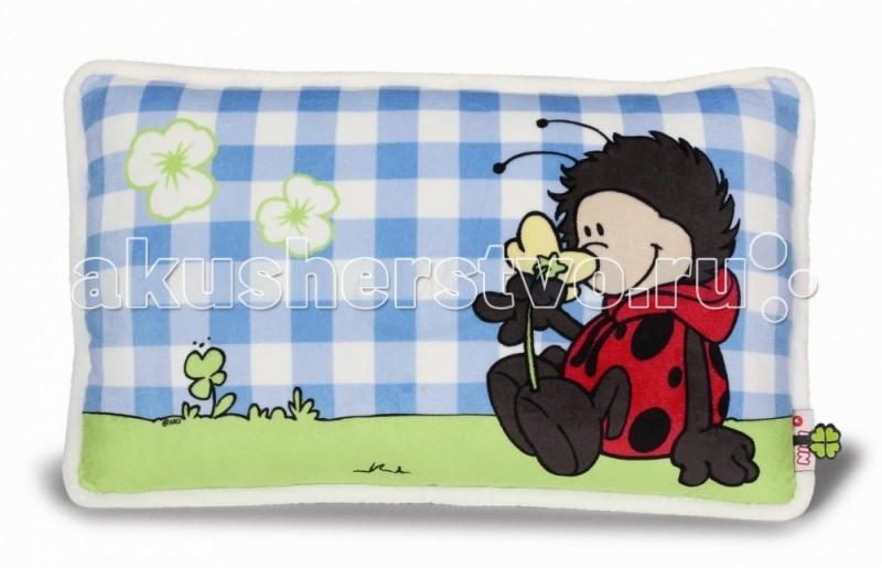 Подушки для малыша Nici Подушка Божья коровка 43х25 см nici подушка северный олень