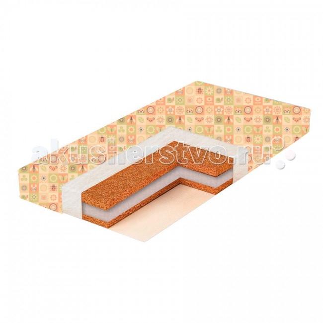 Матрасы BamBola Puff Comfort 6 119х59х6 матрас в кроватку bambola molle standart 12 119 59 12 бязь ms 12
