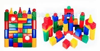 Развивающая игрушка СВСД Строительный набор Стена (43 элемента)  - купить со скидкой