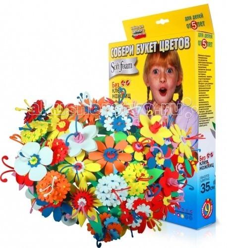 Наборы для творчества Бомик Букет цветов 380 букет букет под радугой в шляпной коробке