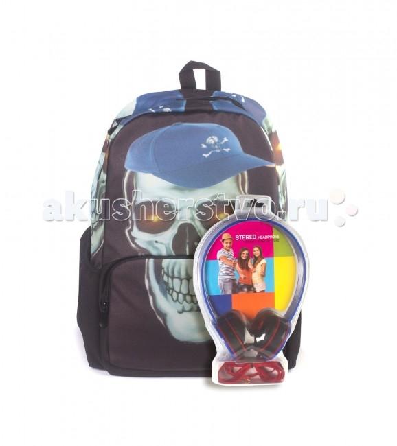 3D Bags Рюкзак Роджер-Бейсболка с наушникамиРюкзак Роджер-Бейсболка с наушникамиРюкзак Роджер-Бейсболка с наушниками WA-1505024  Замечательный вместительный рюкзак с аппликацией.   Достаточно вместительны для того, чтобы в них поместились учебники, ноутбук, школьный завтрак и остальной арсенал школьника.   Эти износоустойчивые рюкзаки снабжены вместительным внутренним отсеком на молнии и двумя боковыми карманами на липучке.   Спинка рюкзака и лямки прошиты для дополнительного комфорта при эксплуатации.  В комплект входят наушники с мягкими ушными подушками. Длина кабеля 2 м, разъем 3.5 мм, сопротивление 32 Ом, диапазон частот - 20 Гц-20000 Гц, выходная мощность - 100 мВт.  Материал - полиэстер 600D  Размер - 43х33х19 см<br>