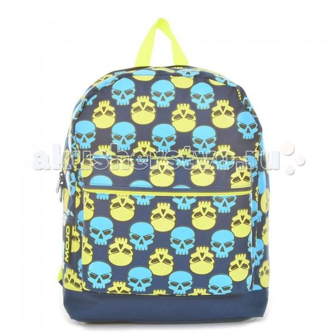 Mojo Pax Рюкзак Brite Skull CheckerРюкзак Brite Skull CheckerРюкзак Brite Skull Checker Mojo Pax  Ты смелый модник с чувством юмора? У нас есть рюкзак специально для тебя!  Mojo представляет своеобразный «гвоздь» коллекции аксессуаров с черепами. Этот рюкзак тоже украшают многочисленные черепа, только они — совсем не мрачные!   Немного мультяшные, голубые и зеленые детали этого анатомического орнамента понравятся тем, кто ценит яркие вещи, которые удивляют и привлекают всеобщее внимание.  Материал - полиэстер/люминесцентная краска  Размер - 41х30.5х12 см  MOJO – это бьющая через край энергия молодости, это современный, яркий, смелый стиль для тех, кто не привык сливаться с фоном. Бренд предлагает большой выбор рюкзаков, чехлов для планшетов и ноутбуков, кошельков, наушников и других аксессуаров. Подростки и молодежь любят продукцию MOJO за поистине уникальное сочетание качества, эргономичности, удобства и стопроцентно запоминающейся «внешности». Яркие, смелые, привлекающие к себе внимание принты, современные ткани, высококлассная фурнитура, безупречное качество пошива – эти вещи будут с вами – и будут на пике популярности - ни один год! Качество MOJO давно по достоинству оценили на Западе и в Европе – бренд любят и школьники, и студенты, и взрослые любители ярких вещей и яркой жизни.<br>