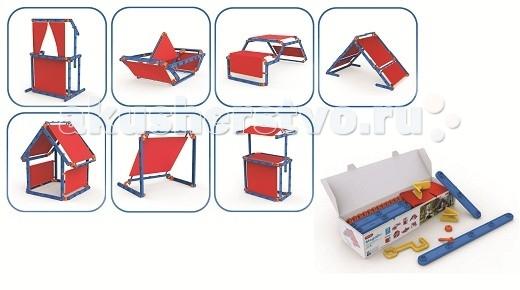 Keter Игровой домик Megado 7 в 1Игровой домик Megado 7 в 1Игровой конструктор Keter Megado 7 в 1 - позволит надолго увлечь малыша и создать ему множество приятных игр на свежем воздухе летом. Конструктор позволит развить образное мышление, выучить цвета и улучшить мелкую моторику рук.  Характеристики: Развивает логику навыки, укрепляет творческий потенциал и воображение создавать новые миры, строить новые приключения Для внутреннего и наружного применения Легко модульная конструкция Обучающие строительство комплект, который может быть построен в бесконечных вариантов 100 штук в одном комплекте<br>