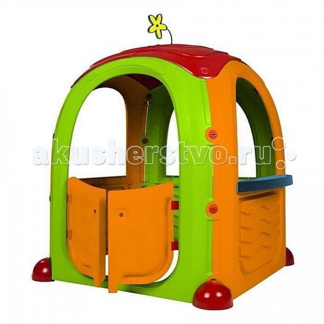 Paradiso Игровой домик Т02500 94х94х125 смИгровой домик Т02500 94х94х125 смИгровой домик подойдет в качестве игровой площадки для детей. Игровой домик станет прекрасной основой для детских сюжетно-ролевых игр, а также с его помощью можно будет разыгрывать сцены из известных сказок или рассказов.  Компактный и уютный, он придется по нраву маленьким детям, ведь количество игр, в которые можно играть в нем, ограничивается исключительно детской фантазией, а дети, как известно, весьма изобретательны.  В качестве дополнительных игровых элементов можно использовать специальные наклейки, входящие в комплект поставки. С помощью этих наклеек домик можно всего за пару секунд превратить в супермаркет, кухню или рабочую мастерскую.   В модели нет острых деталей или углов. Домик выполнен из экологически безопасных материалов, сборка не требует каких-либо специальных навыков и занимает считанные минуты.<br>