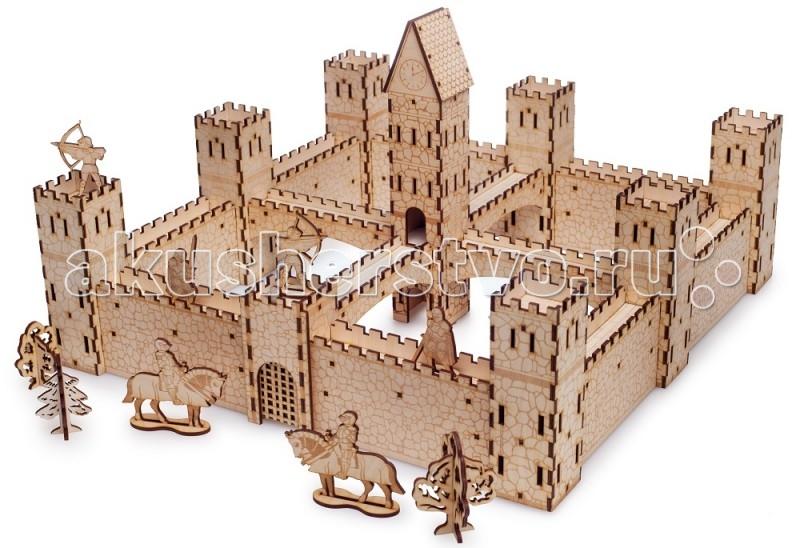Конструктор Delphi Gate Рыцарский замок (30 деталей)Рыцарский замок (30 деталей)Конструктор Delphi Gate Рыцарский замок (30 деталей) деревянный. Ребёнок не только собирает замок, но играет в увлекательные сражения.  Первые замки появились более 1000 лет назад. Они являлись не только военными, сооружениями, но и жильём для их обитателей. Ребёнок сможет построить замок, крепость, или несколько крепостей. Обустроить спокойную для своих граждан жизнь или отправить свою армию в поход. К онструктор Delphi Gate Рыцарский замок- это уже собранные детали и готовые к игре башни, стены, рыцари и другие детали, сделанные из дерева. Не просто конструктор, а полноценная игра. В набор входит цеая армия: рыцари, лучники, всадники. Ребенок не только собирает замок, но и играет в увлекательное сражение.  Особенности: Сделан из дерева Безопасен и гипоаллергенен, что подтверждено сертификатом Легко собирать В мостах и стенах есть штырьки, которые легко вставляются в башни и часовни, даже маленьким ребёнком Все наборы универсальны Детали даже разных наборов соединяются вместе.  Можно купить 1 конструктора, а потом докупать другие Не просто конструктор, а полноценная игра Решётки могут подниматься Солдаты размещаться на стенах Можно собрать десятки вариантов замков и крепостей. В наборы входит целая армия для игры в собранных замках. Безопасные и прочные детали Выдерживают падение на пол. Углы деталей безопасны. Развивает моторику, внимание, творчество, мышление.   В наборы входит целая армия: рыцари лучники всадники  Размер:41х41х26см<br>