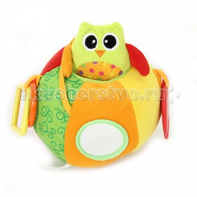 Развивающие игрушки I-Baby Сова на мяче i baby сова b 14108