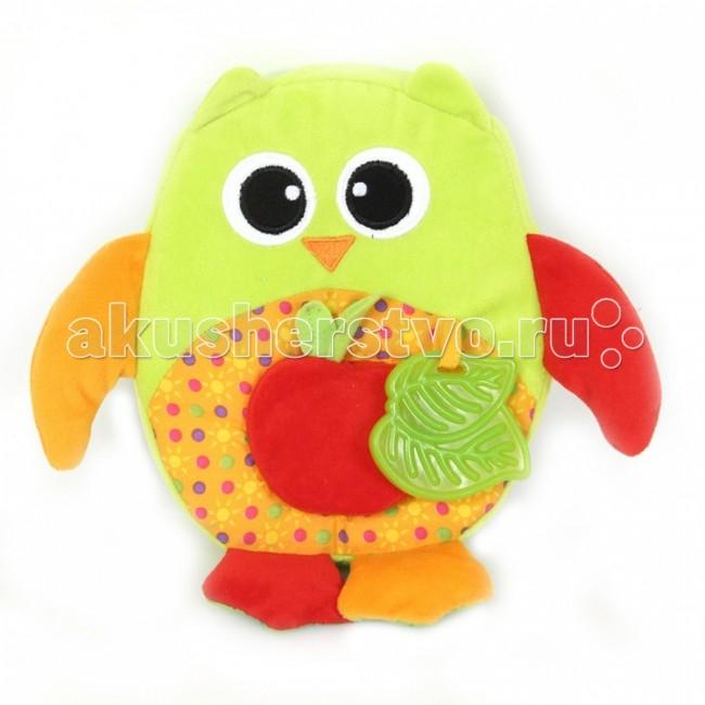 Развивающие игрушки I-Baby Сова с яблоком i baby сова b 14108