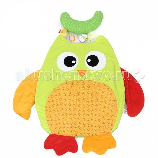 Развивающие коврики I-Baby Сова с подушкой i baby сова b 14108