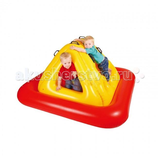 Upright Сухой бассейн СкалолазСухой бассейн СкалолазСухой надувной бассейн Скалолаз подходит как для игр в помещении, так и для отдыха детей на даче и за городом.  Сама конструкция надувная, так что любые повреждения и травмы об её углы исключены. Можете смело позволить ребёнку резвиться вдоволь не переживая за его безопасность.  Размер: 195x195x85 см.<br>