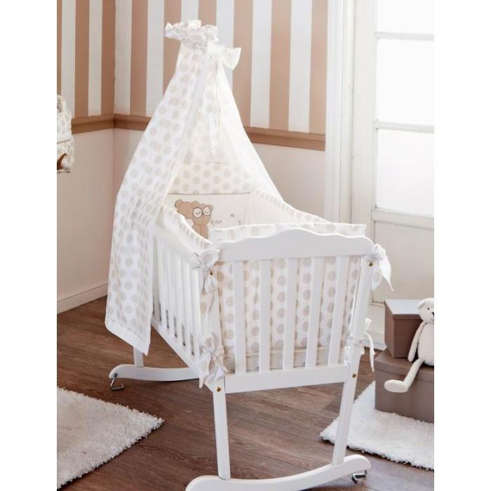 Балдахин для кроватки HPA Bob Mario &amp; NinoBob Mario &amp; NinoБалдахин HPA BOB MARIO & NINO украшен узором в крупный горох, что придает ему оригинальности. Ткань защищает ребенка от комаров. В комплекте с мебелью HPA BOB MARIO & NINO балдахин будет выглядеть очень стильно.  Основные характеристики балдахина HPA:  - пригодна для кроватей-диванов, кроватей-качалок, - легко стирается в машинке, - декор — 100%-й хлопок, - ткань балдахина — 100%-й полиэстер.  Держатель для балдахина подбирается отдельно.  Размеры (см): 200х35.<br>