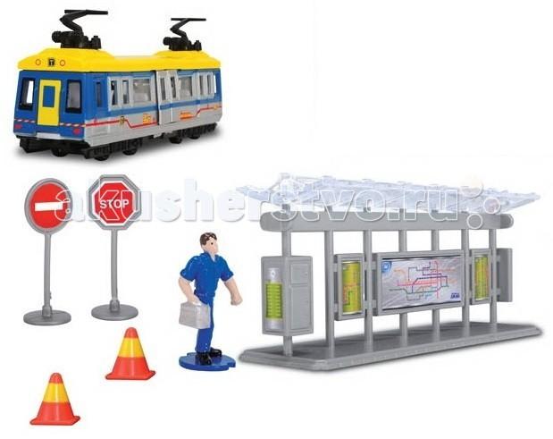 Игровые наборы Dickie Трамвайная остановка