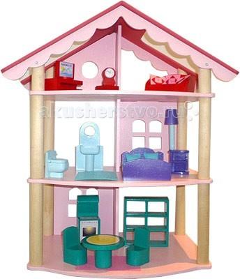 Paremo Кукольный домик Роза ХуторКукольный домик Роза ХуторКукольный домик Paremo Роза Хутор - игрушка, в которой воплощены стиль и роскошь, высота и мощь, простота и уют, романтика и восторг самого известного после Олимпиады в Сочи курортного местечка России - Роза Хутор. Сделано в России!   Этот трехэтажный домик разработан для формата мини-кукол высотой до 15 см  В комплекте: домик 17 предметов кукольной мебели 7 декоративных наклеек  инструкция по сборке  гарантийный сертификат.<br>