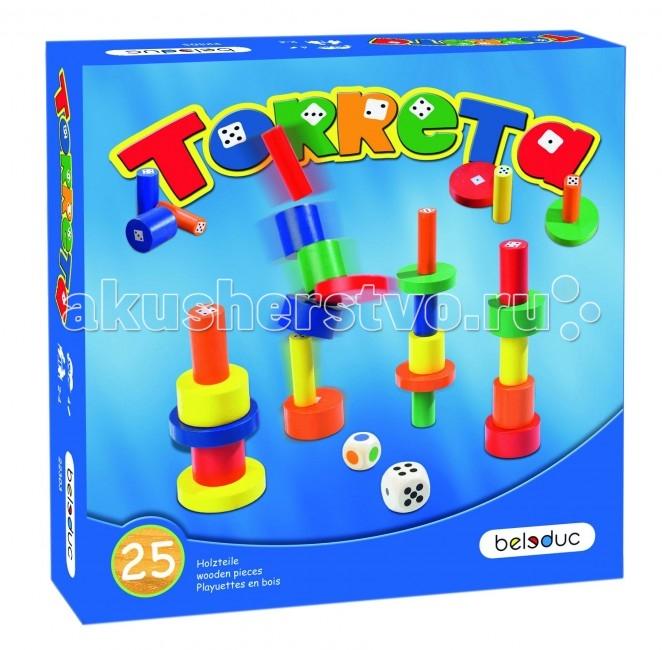 Игры для малышей Beleduc Развивающая игра Башенки 22303 beleduc развивающая игрушка зоопарк