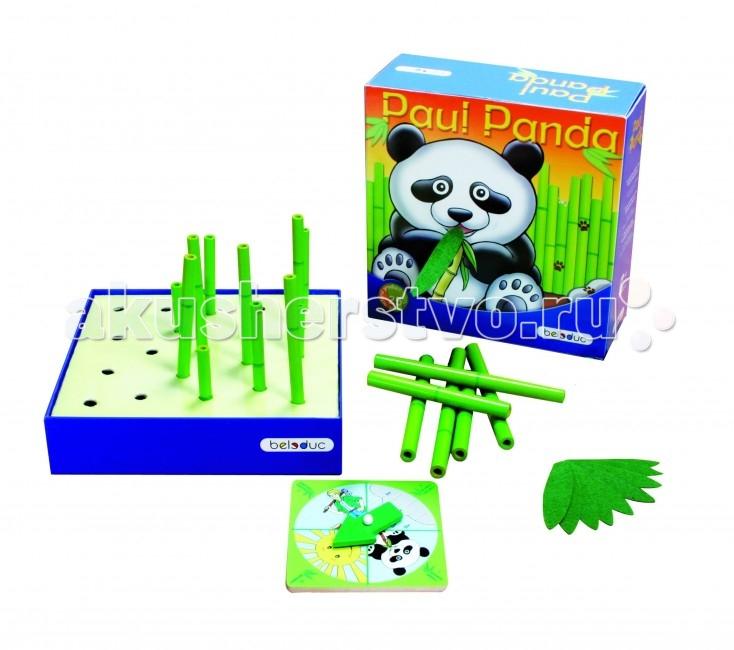 Игры для малышей Beleduc Развивающая игра Веселая панда 22322