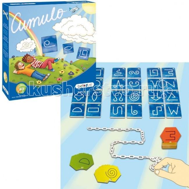 Beleduc Развивающая игра Кумуло 22325Развивающая игра Кумуло 22325Развивающая игра Кумуло 22325 Beleduc  В процессе игры дети изучают геометрические фигуры на примере облаков различных форм. Хорошее зрительное восприятие поможет игрокам искать и узнавать различные фигуры.   Включив воображение, можно увидеть в простых формах удивительные предметы и придумать о них истории. Игра способствует развитию фантазии.  Включает 50 деталей: 24 деревянных карты, 24 картонных карты, 1 картонная коробка, 1 деревянная цепочка.  Все детали выполнены из высококачественных материалов, совершенно безопасных для маленьких детей.  Игры Beleduc идеально подходят для начального развития детей, задолго до того, как они идут в школу, но и просто для интересного времяпрепровождения. Игры Beleduc идеально подходят для совместной игры родителей и детей. Некоторые игры очень понравятся взрослым, которые с удовольствием втянутся в процесс игры.<br>