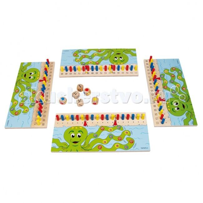 Игры для малышей Beleduc Развивающая игра Калькулино 22490 beleduc развивающая игрушка зоопарк