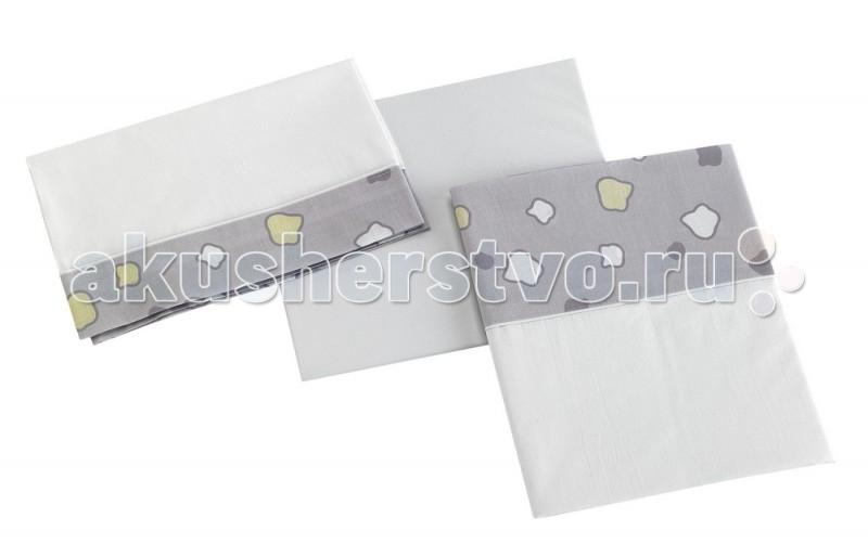 Постельное белье Micuna Dinus Plus 120х60 (3 предмета)Dinus Plus 120х60 (3 предмета)Комплект белья 120х60 Micuna Dinus Plus Gris TX-821   Коллекция текстиля для детской комнаты от испанской компании Micuna создана из натурального хлопка самой тонкой выделки. Нежная, гипоаллергенная ткань благоприятна для кожи малышей. Она легко стирается и быстро сохнет. Наполнитель мягких бортиков – холлофайбер – состоит из пустотелых полиэстеровых волокон, скрученных в форме пружин. Обеспечивает лучшую, чем синтепон, теплоизоляцию и меньше слёживается. Текстиль Micuna – гарантия настоящего качества.  В комплект входят: наволочка 58х30 см простынь на резинке 120х60 см простынь-покрывало 170х110 см  Состав ткани: 50% хлопок, 50% полиэстер.<br>