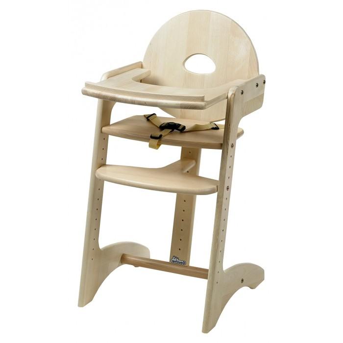 Стульчик для кормления Geuther Filou со столикомFilou со столикомСтульчик для кормления Geuther Filou со столиком  Стульчик Filou имеет высокую жесткую эргономичную спинку для формирования здорового позвоночника ребенка. Стульчик легко регулируется по высоте, благодаря чему его может использовать даже взрослый, когда ребенок вырастет.   Особенности: может использоваться как со специальным прикрепляющимся подносом для еды и игр, так и без него  особенно привлекательным этот стул делает динамичный жизнерадостный дизайн  легко трансформируется и адаптируется под рост ребенка без использования специальных инструментов  подставка для ножек и перегородка на уровне живота ребенка не позволят ему упасть  дополнительно стульчик может комплектоваться удобной, мягкой вставкой для малышей, которую можно постирать  Цвета натуральный, красный  Материал: цельный бук Габариты упаковки: 85x54x10 см Глубина 50 см Ширина 45 см Высота 91 см Вес: 11 кг.<br>