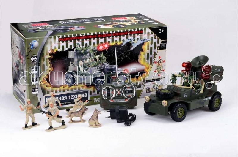 Tongde Машинка военная на Р/У с набором солдат В72194