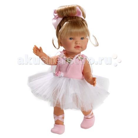 Llorens Кукла балерина Валерия 28 смКукла балерина Валерия 28 смКукла Llorens балерина Валерия 28 см - настоящая красавица.   Блондинка выглядит очень реалистичной. Элегантная прическа и одежда от испанских дизайнеров. Одежда снимается.   Кукла 28 см, полностью сделана из приятного на ощупь винила. Она упакована в оригинальную картонную коробку.<br>